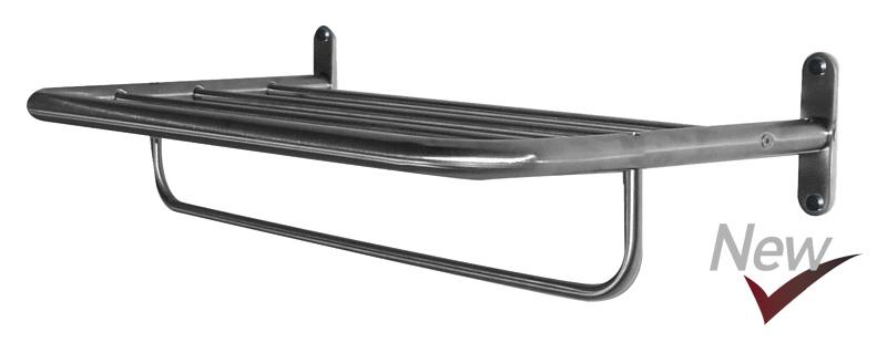 Accesorios de baño en acero inoxidable    Minimalix    Toallero repisa 50 cm . ddfce2046c20